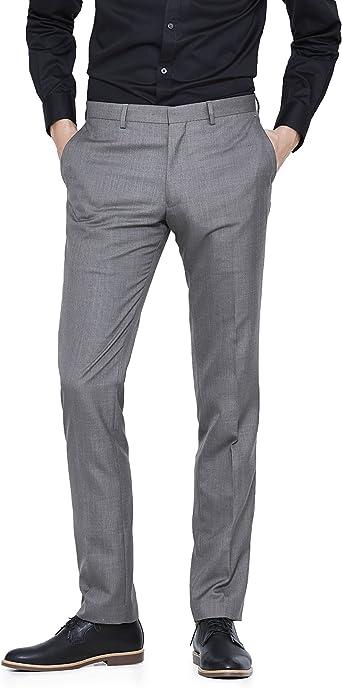 Celio LOFAN Pantalones, Negro (Anthracite 107), Tallas De ...