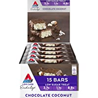 Atkins Endulge Chocolate Coconut Low Carb, Low Sugar Treat Bar, 35g, Pack of 15