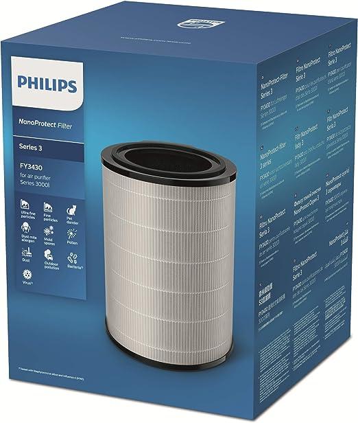 Philips FY3430/30 Fitro Recambio para Serie 800 Purificador De ...