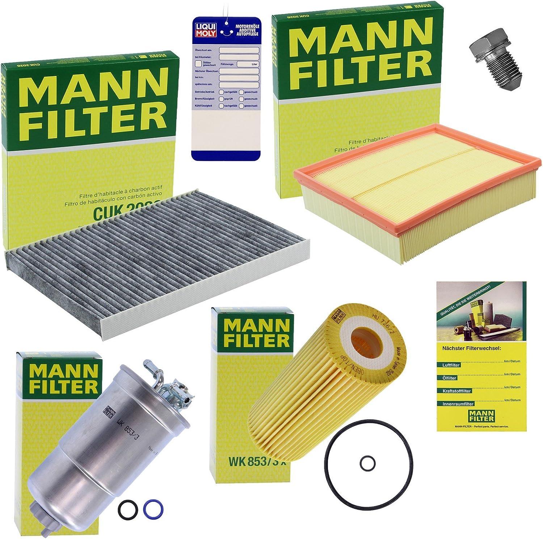 Homme-Filtre Paquet Filtre à air intérieur Filtre Filtre à Huile Carburant Filtre