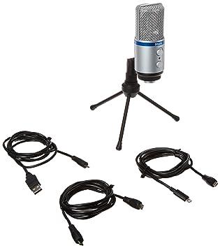 IK Multimedia Lightning To Micro USB Cable For iRig Mic Studio iRig Mic HD /& ...