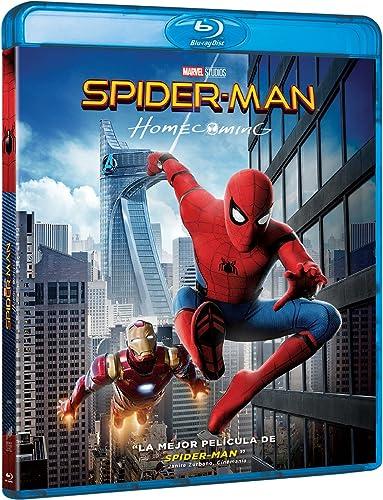 Spider-Man: Homecoming [Blu-ray]: Amazon.es: Tom Holland, Michael Keaton, Robert Downey Jr., Marisa Tomei, Jon Favreau, Gwyneth Paltrow, Jon Watts, Tom Holland, Michael Keaton, Columbia Pictures, Marvel Studios: Cine y Series TV