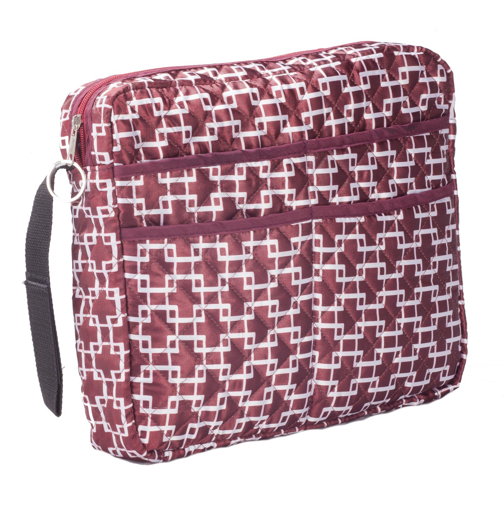 LAMINET - Mobility & Daily Living AIDS (Walker/Wheelchair Bag, Burgundy) by LAMINET