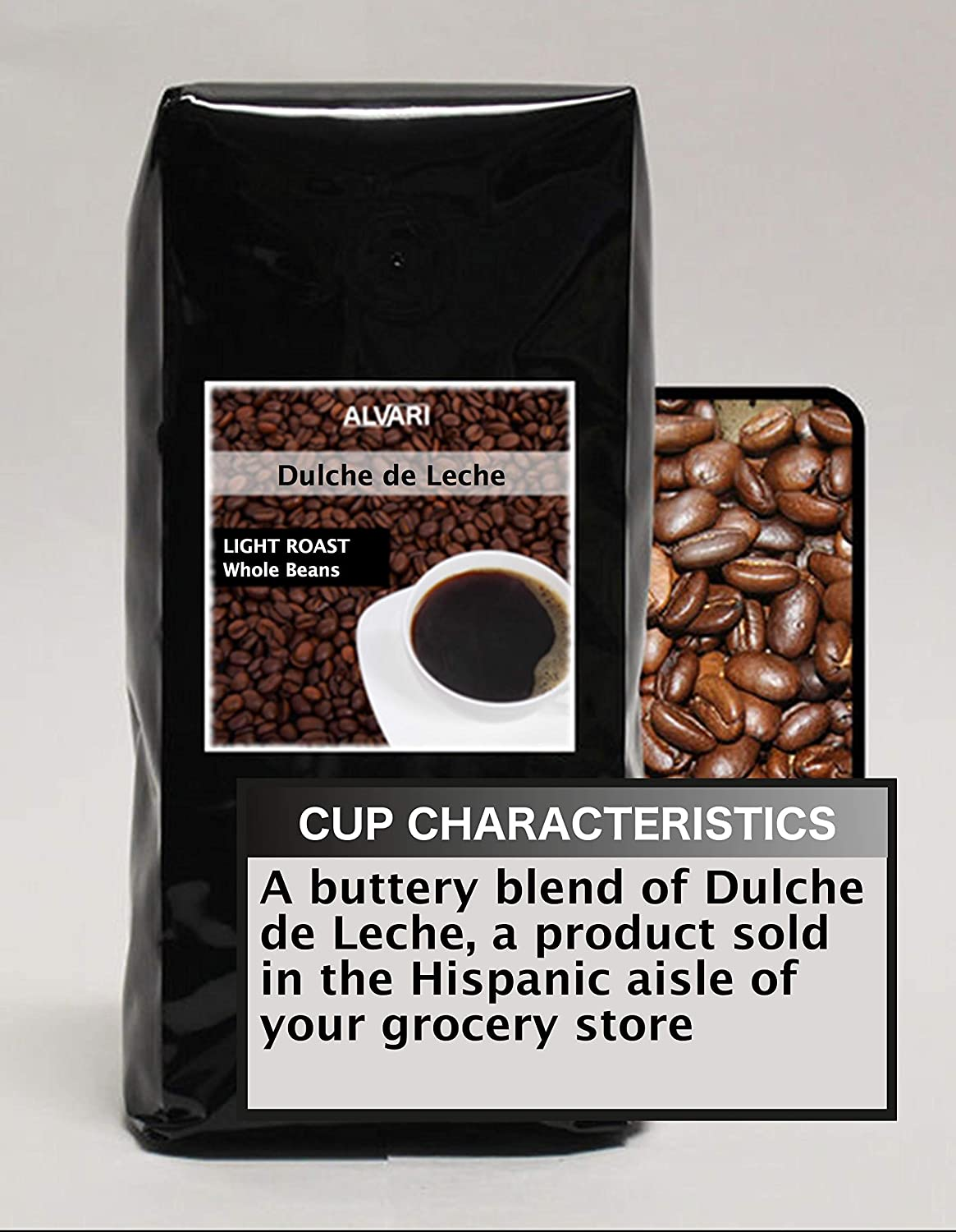 Amazon.com : Dulche de Leche Beans - Medium Roast, 16oz : Grocery & Gourmet Food