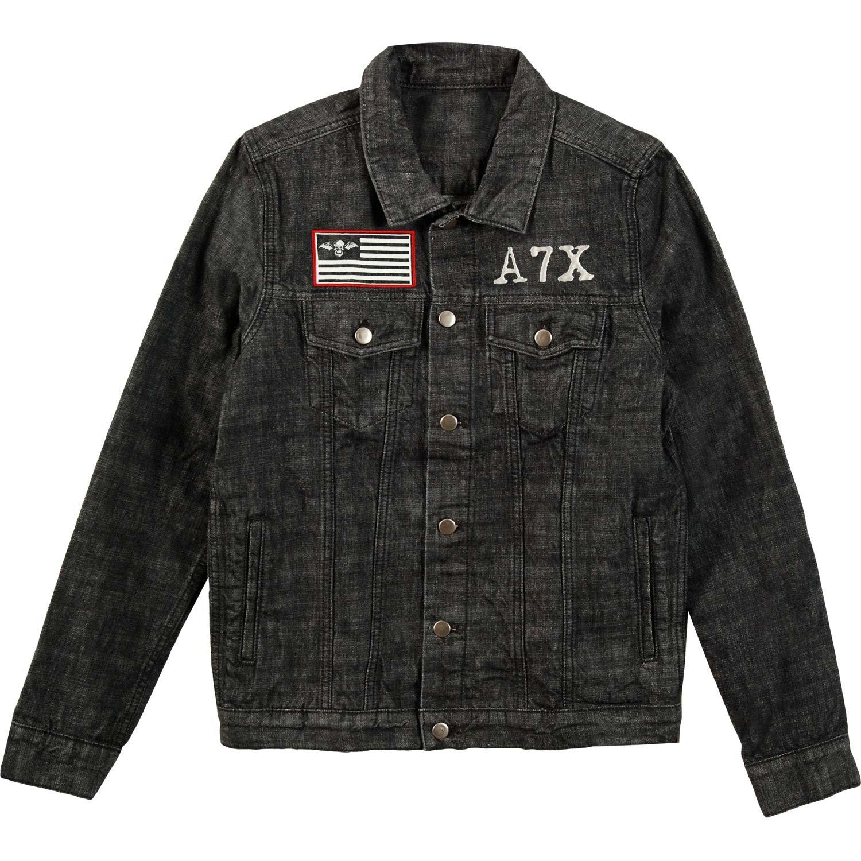 Avenged Sevenfold Men's Number 1 Denim Jacket Denim Jacket X-Large Denim