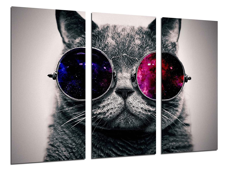 Cuadro vintage gato lennon gafashttps://amzn.to/2QvZay5