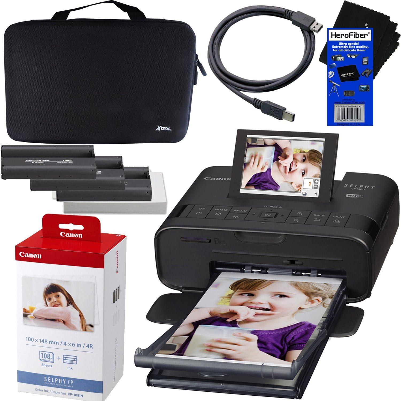 Amazon.com: Canon Selphy CP1300 inalámbrico impresora de ...