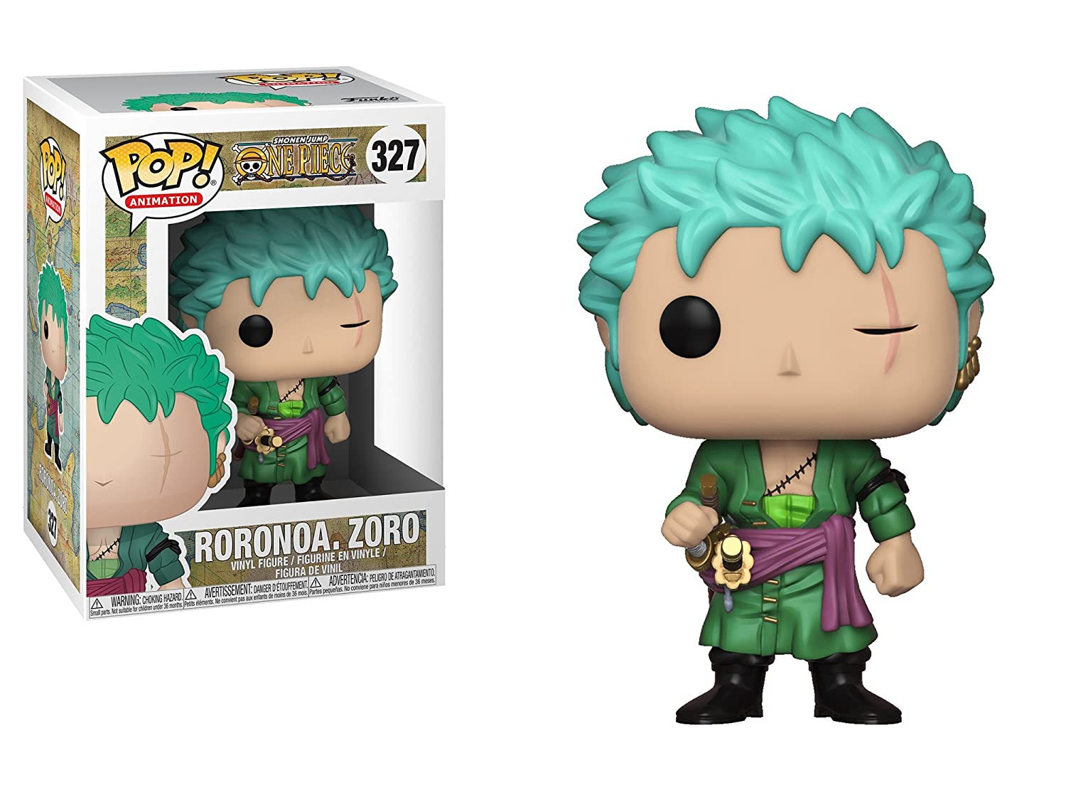 Amazon.com: Funko Pop! Anime: Onepiece - Zoro Collectible ...
