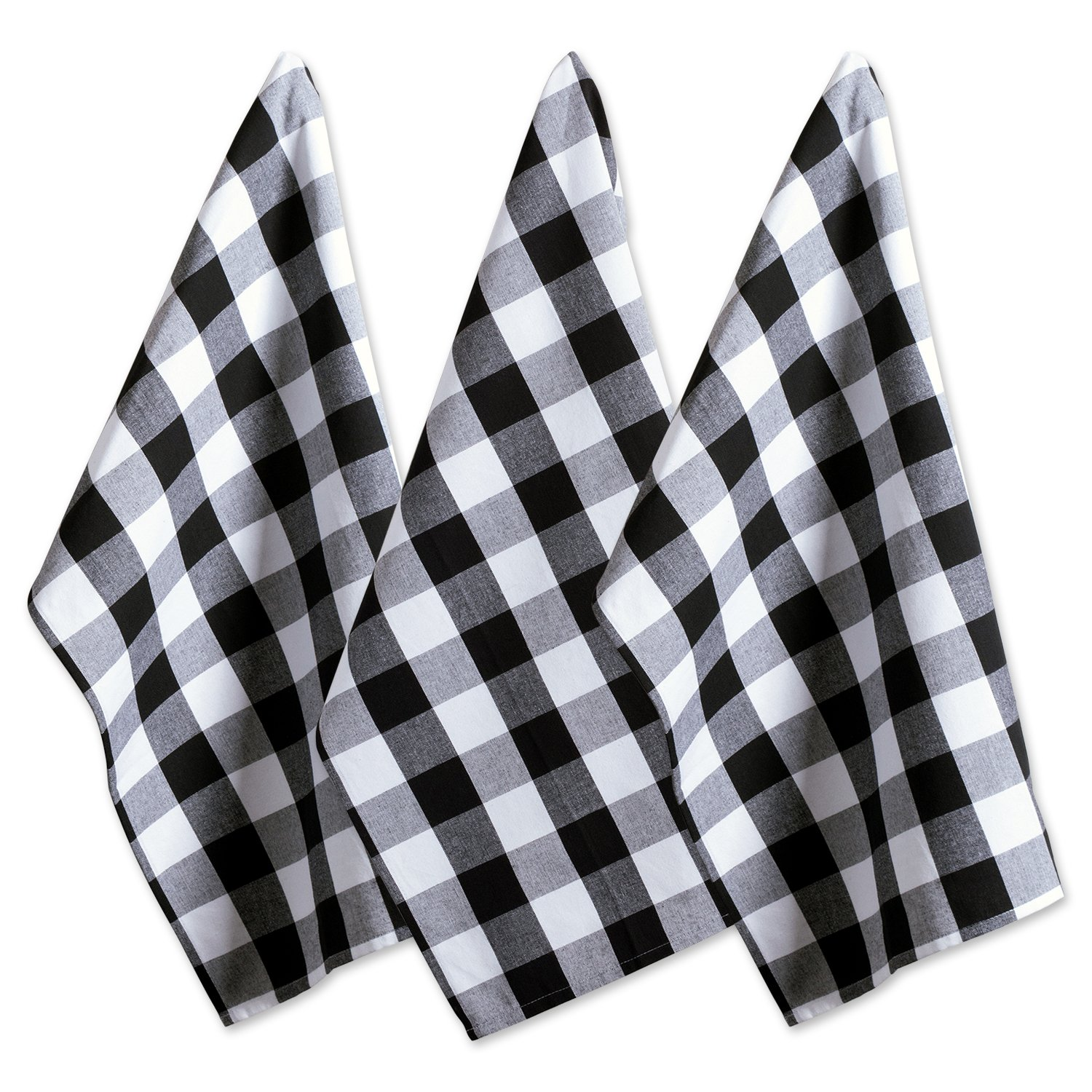 Amazon.com: DII Cotton Buffalo Check Plaid Dish Towels ...