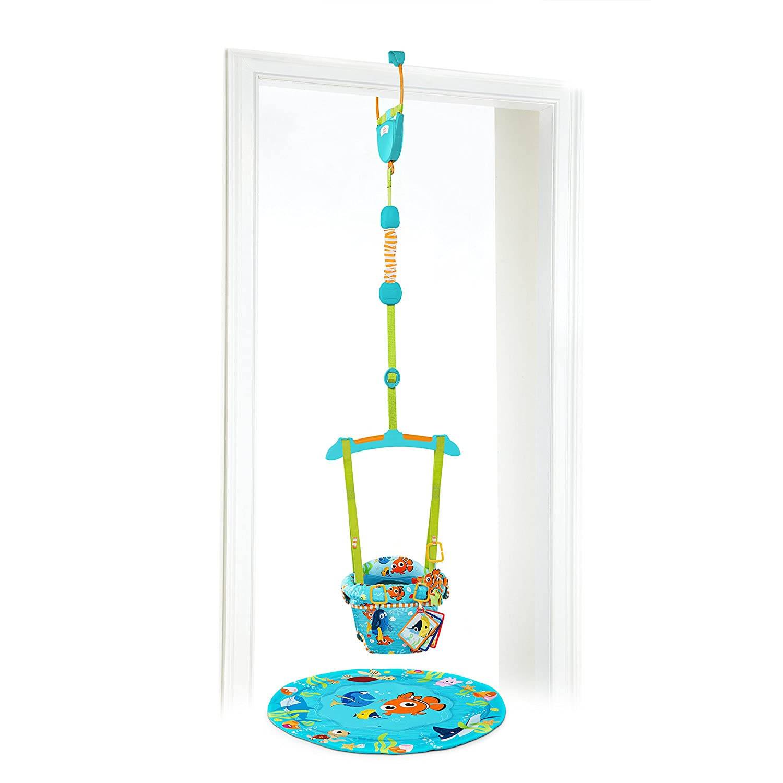Disney Baby FINDING NEMO Sea of Activities Door Jumper Kids II 10276-3-W11