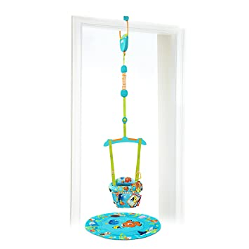 7d14e59c886f Amazon.com   Disney Baby Finding NEMO Sea of Activities Door Jumper ...