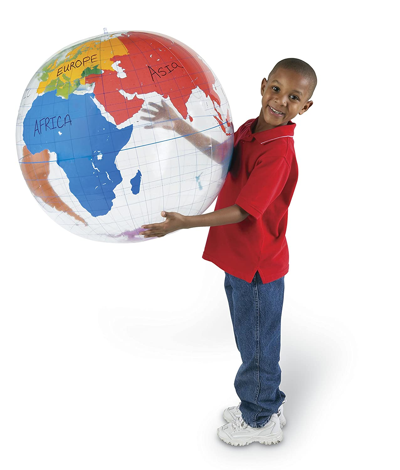 Learning Resources Giant Inflatable Labelling Globe