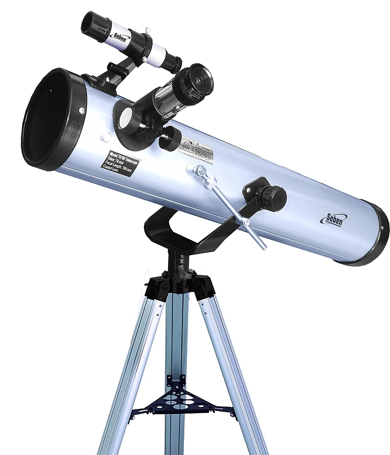 Seben 700-76 Telescopio riflettore con Big Pack incluso
