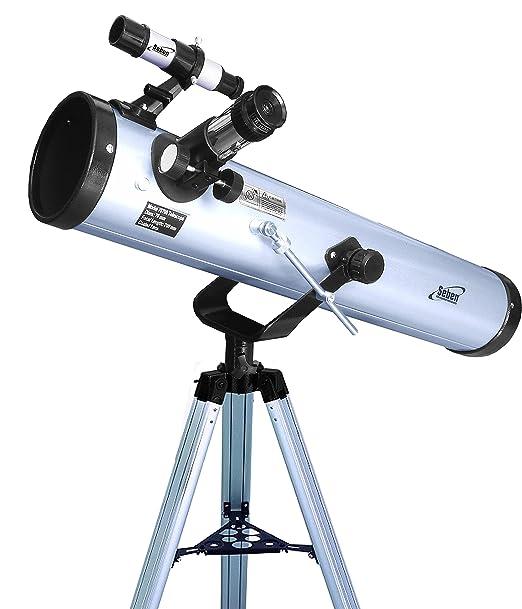 554 opinioni per Seben 700-76 Telescopio riflettore con Big Pack incluso