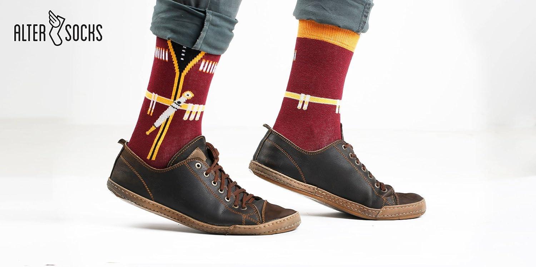Altersocks colored socks men /& women crazy gift one size in cotton funny socks