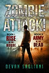 Zombie Attack! 1 and 2: Rise of the Horde / Army of the Dead Paperback