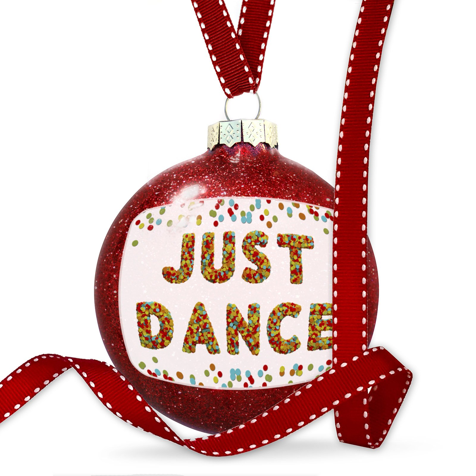 Christmas Decoration Just Dance Birthday Party Confetti Ornament