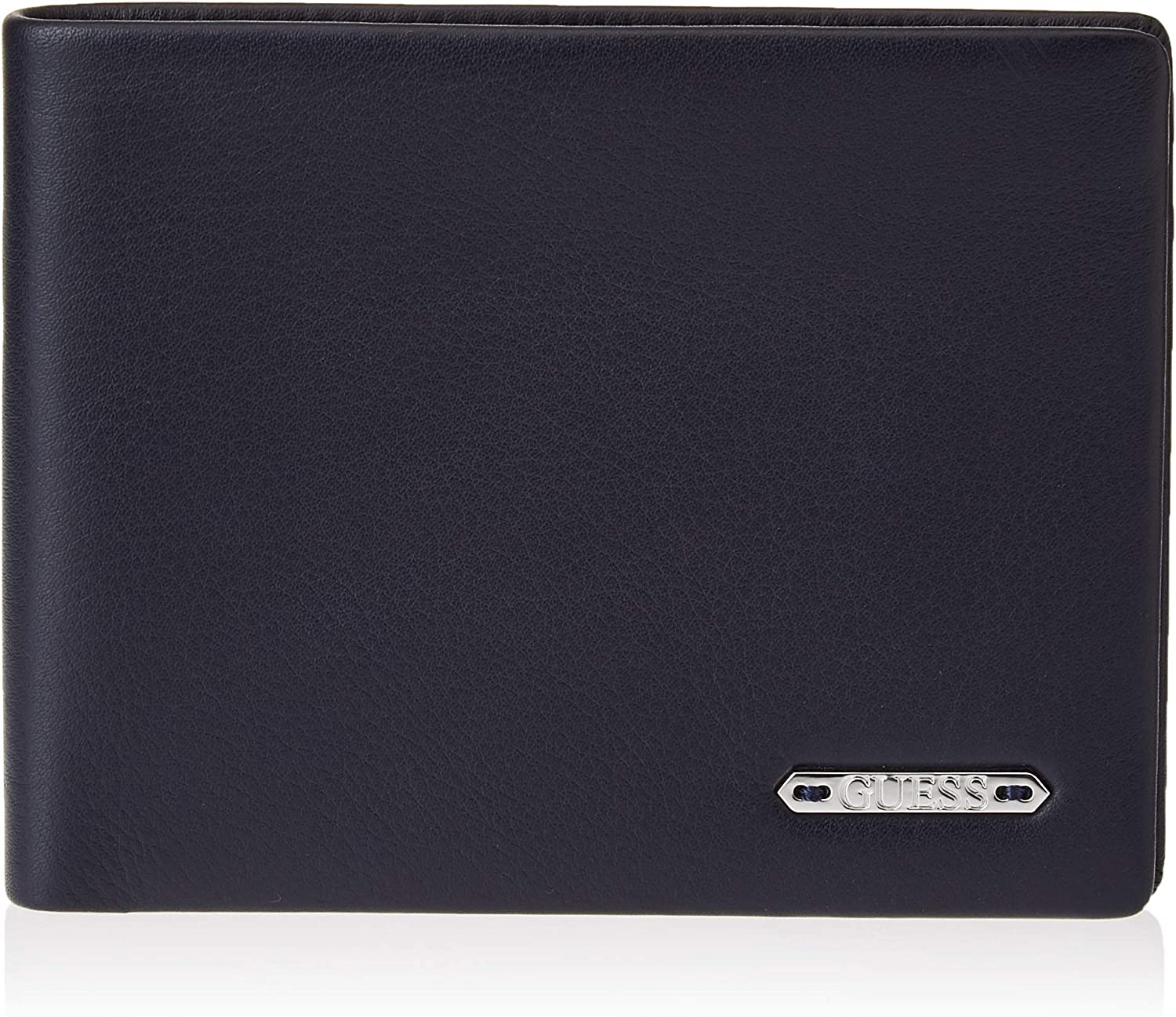 Guess Tyler Flat Billfold, Small Leather Goods para Hombre, Negro