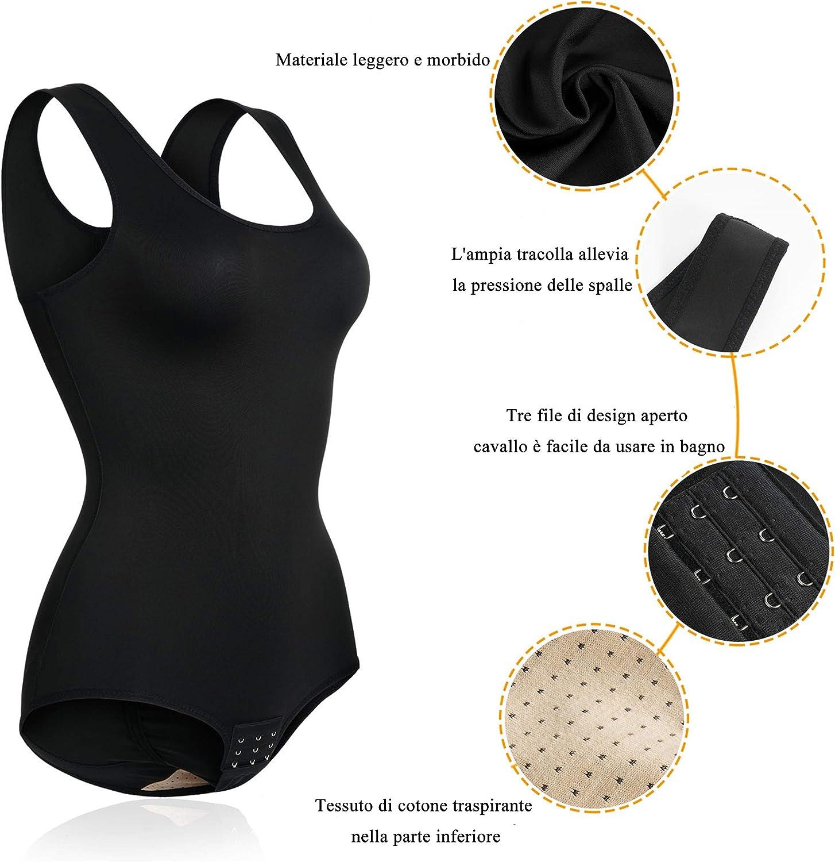 Chumian Shapewear Donna Body Snellente Intimo Modellante Contenitivo Bodysuit Corsetto Seamless Body Shaper