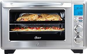 Oster Convection 6-Slice Digital Toaster Oven, Stainless Steel | TSSTTVDFL1