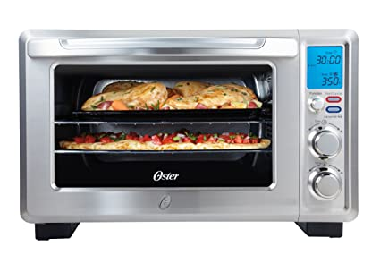 Oster inspire large toaster oven stainless steel amazon home oster inspire large toaster oven stainless steel publicscrutiny Images