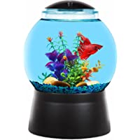 Koller Products BettaTank 2-Gallon Gumball Fish Tank with LED Lighting