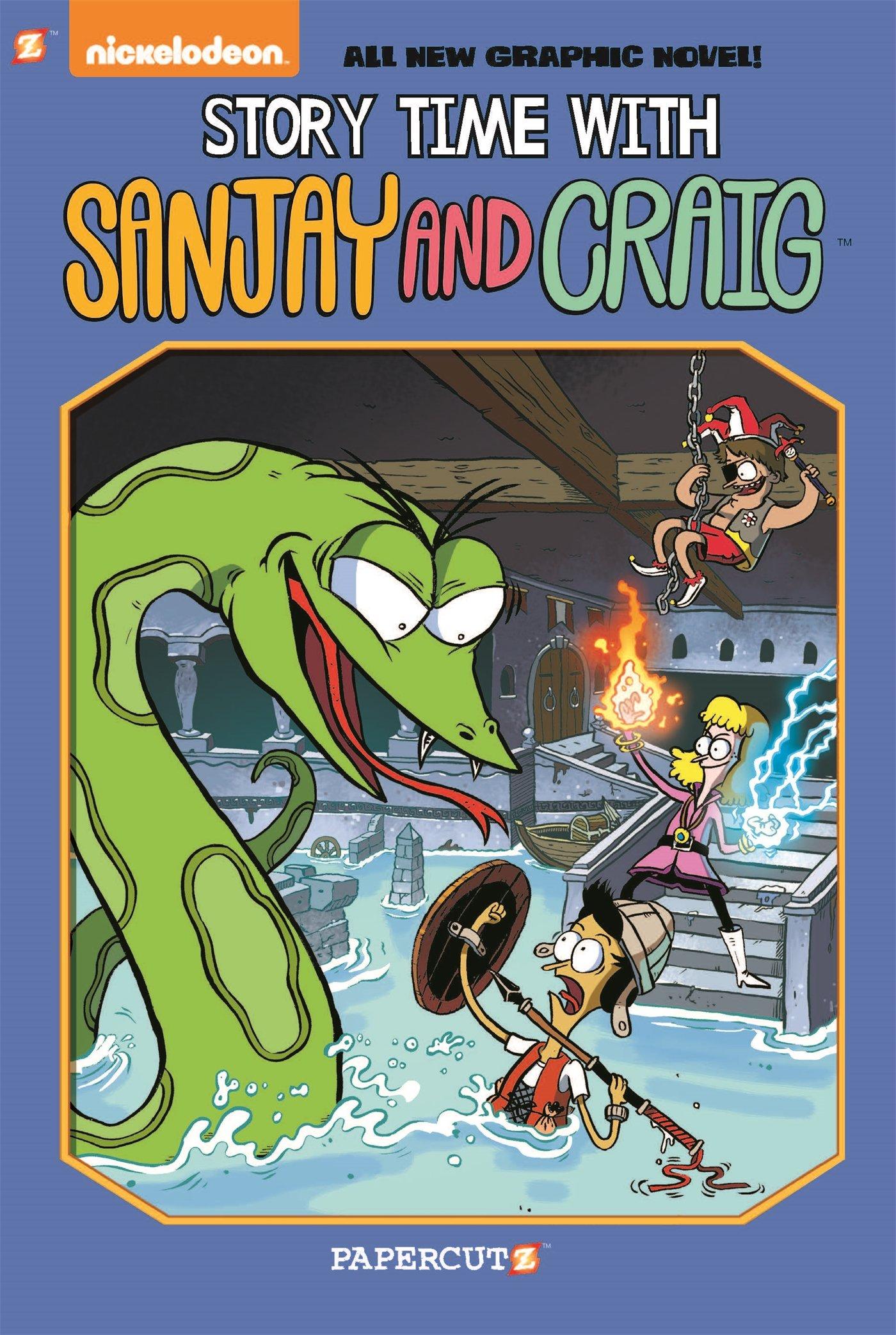 Sanjay and Craig #3: 'Story Time with Sanjay and Craig' (Sanjay & Craig)
