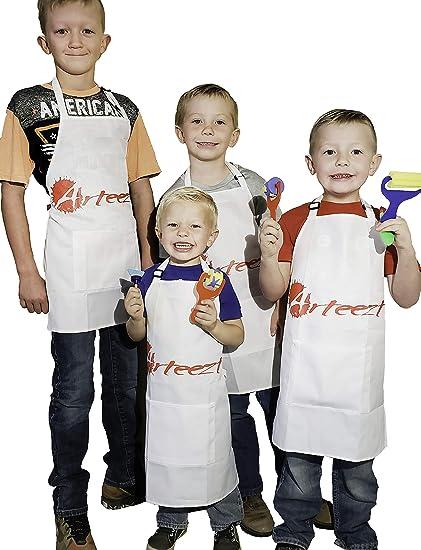 Amazon Com Arteezt Kids Arts And Crafts Apron Fun And Durable Art
