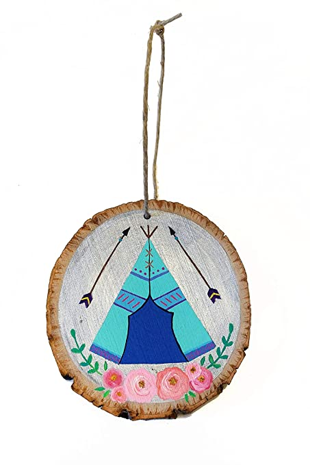 Amazon Com Hanjear59 Teepee Ornament Boho Tribal Floral