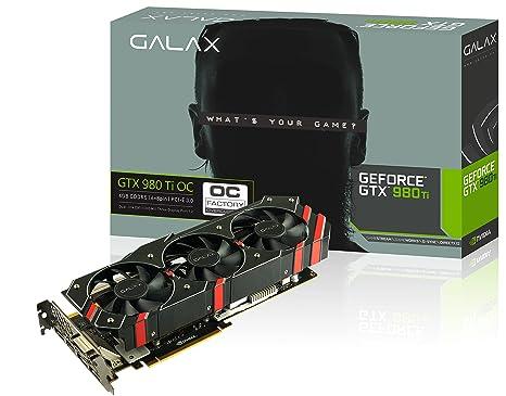 GALAX GeForce GTX 980 Ti OC 6GB GDDR5 - Tarjeta gráfica ...
