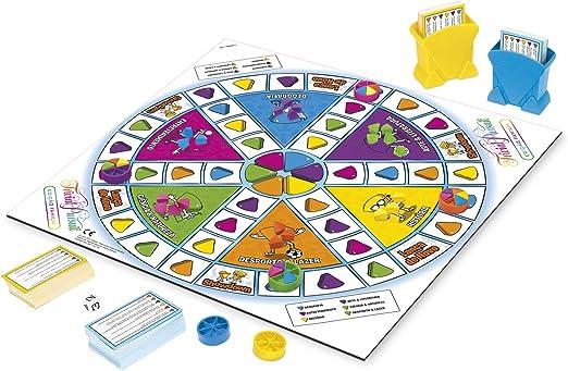Hasbro Gaming Trivial Pursuit - Juego De Mesa Trivial Pursuit Family - Puzzle Juego - Versión Francesa: Amazon.es: Juguetes y juegos