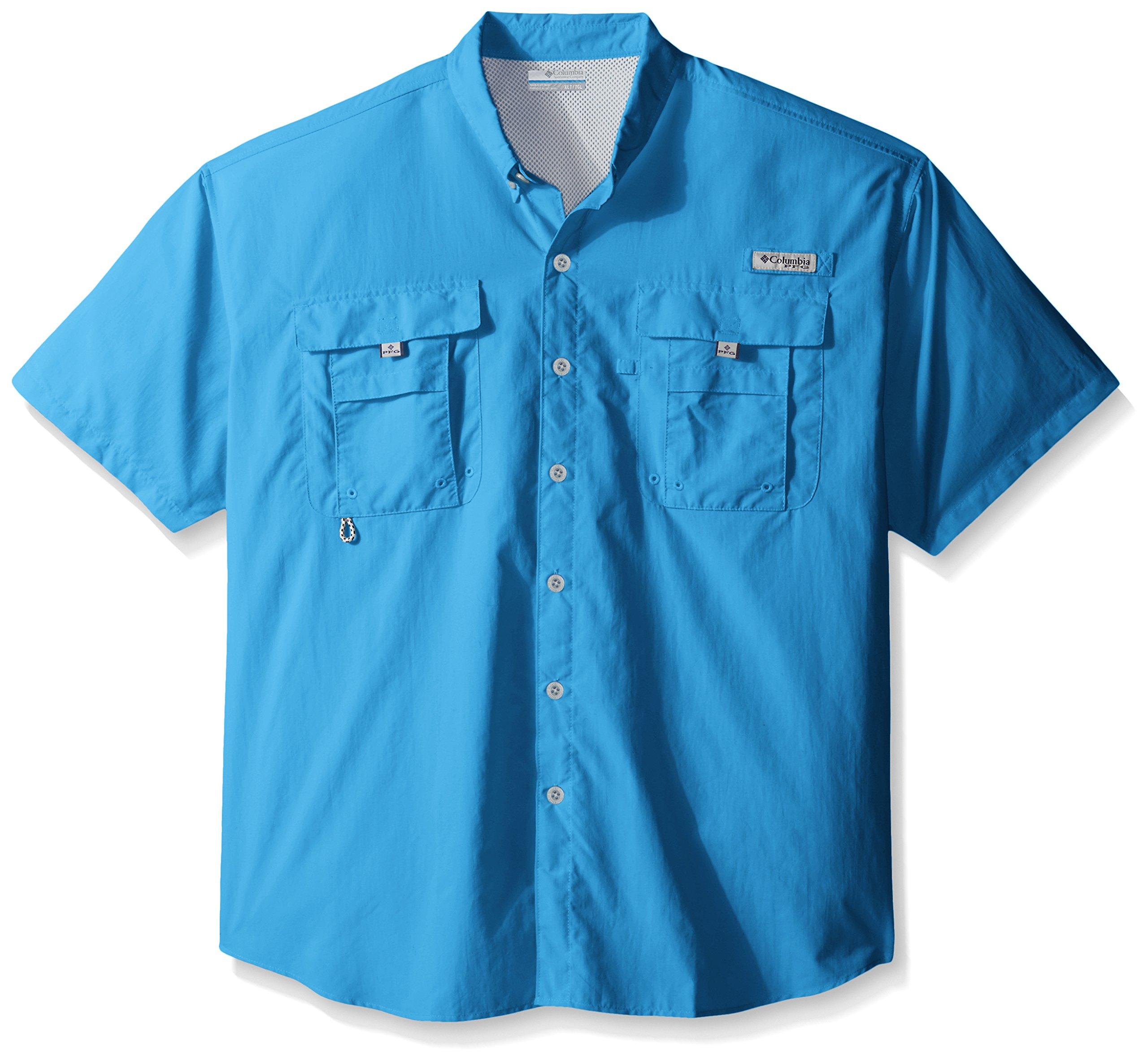 Columbia Men's Bahama II Shorts Sleeve Big/Tall Shirt, Cypress, 3X