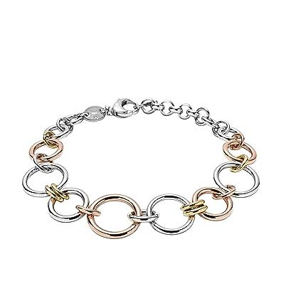 Fossil Women's Silver Bracelet JF01821998 tTBI6U