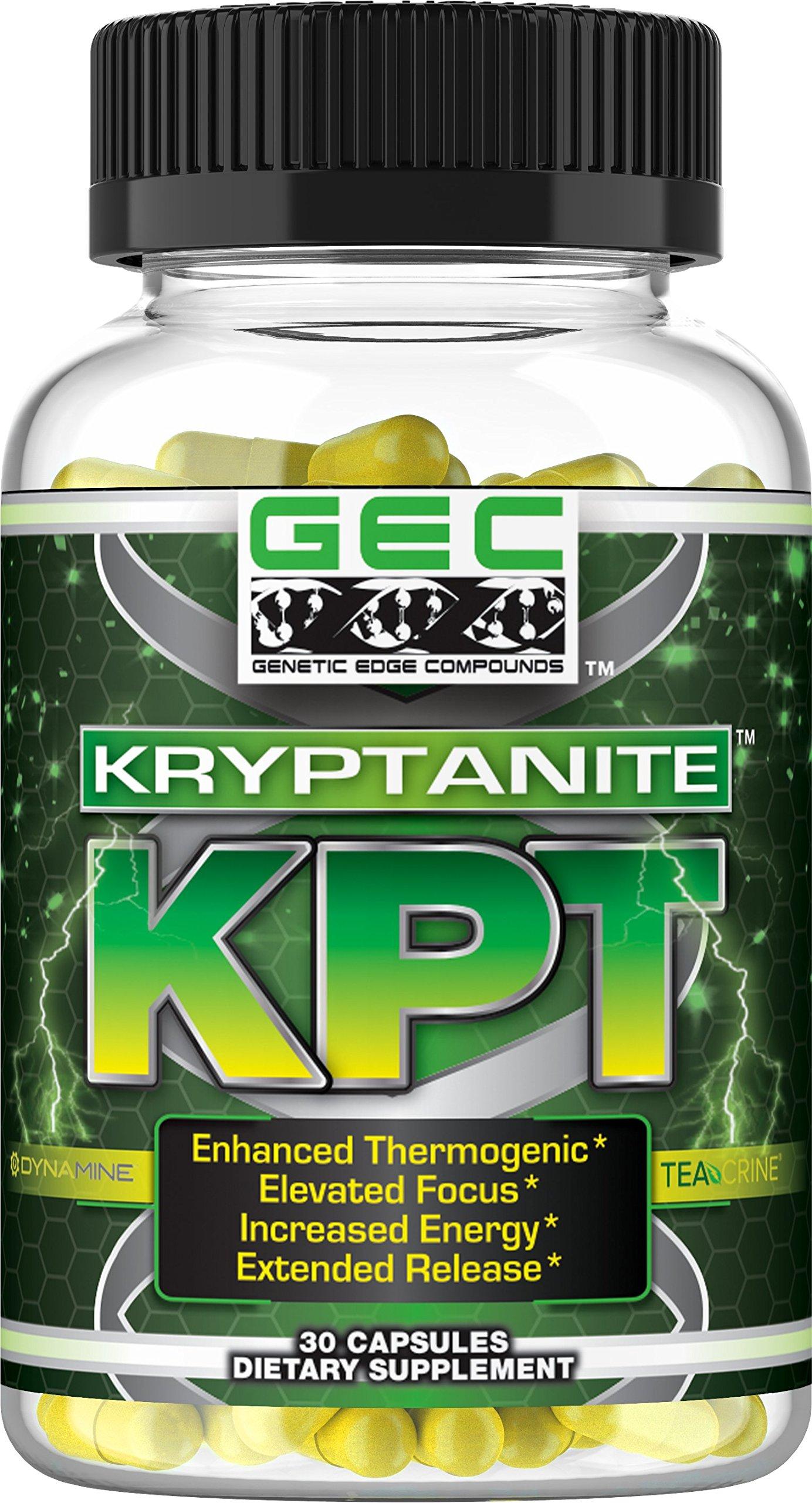 GEC Kryptanite Enhanced Thermogenic by GENETIC EDGE COMPOUNDS