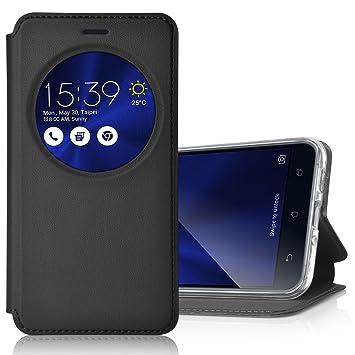 ELTD Asus Zenfone 3 ZE552KL 55 Flip Cover Etui Housse Coque Portefeuille Pour