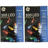 Ge Mini Led Light Set 100 Lights Multi-Colored Bulbs Led (Pack of 2)