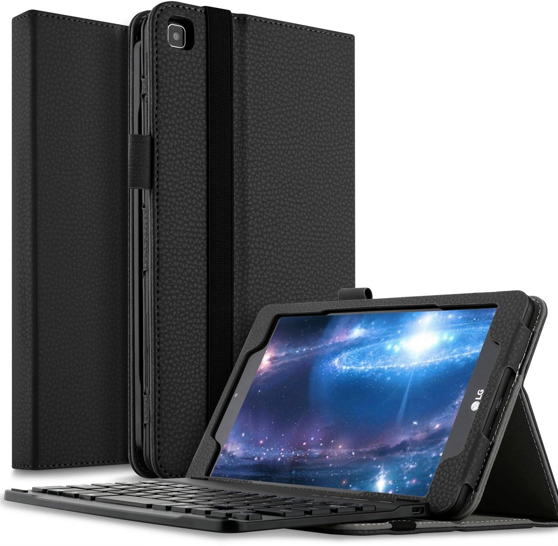 IVSO LG G PAD F2 8.0 Sprint (LK460) Funda de teclado para tableta – Funda de teclado ultra ligera para LG G Pad F2 8.0 Sprint (LK460) Tablet (Negro)