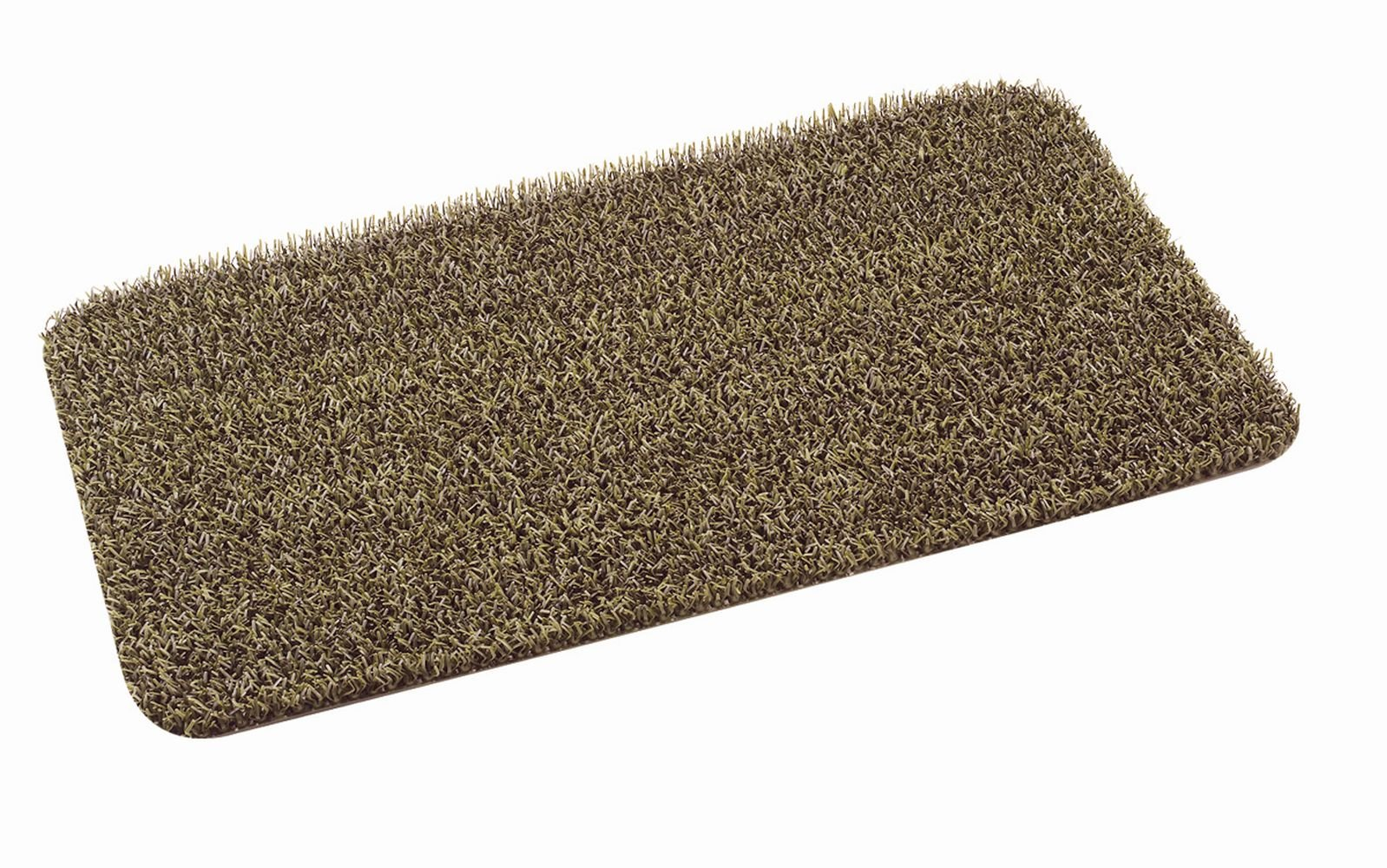 Grassworx Clean Machine High Traffic Doormat, 18'' x 30'', Desert Taupe (10371857)