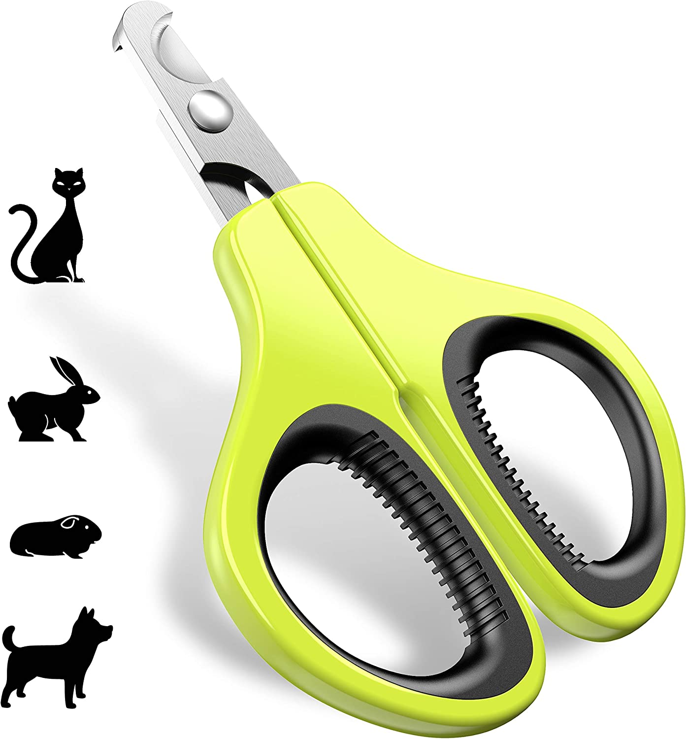 JOFUYU Updated 2019 Version Cat Nail Clippers and Trimmer - Professional Pet Nail Clippers and Claw Trimmer - Best Cat Claw Clippers for Rabbit Puppy Kitten...