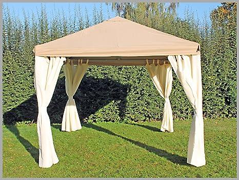 Carpa 3 x 4 m Sahara marrón Party 4 x 3 m venta tienda impermeable: Amazon.es: Jardín