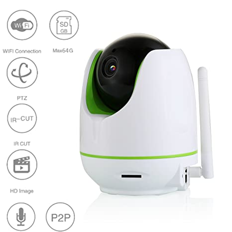 Home Security Ratings >> Buy Evoke Wireless Wifi Cctv Hd Camera For Home Security Online At