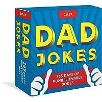 2019 Dad Jokes Boxed Calendar: 365 Days of Punbelievable Jokes
