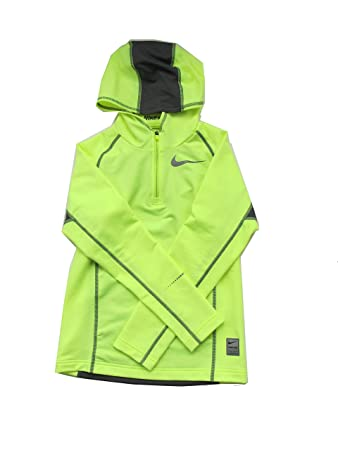 354a8d7d6600 Nike Pro Dri-Fit HyperWarm Hoodie Boys Size S Color Neon Yellow ...