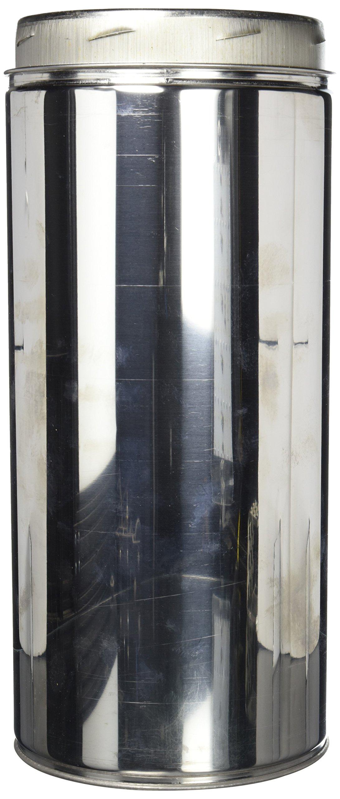 Selkirk Metalbestos 6UT-18 6-Inch X 18-Inch Stainless Steel Insulated Chimney Pipe