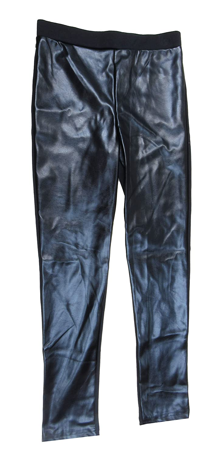 Epic Threads Big Girls 7-16 Faux-Leather Ponte Pants Large