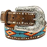 Ariat Kid's Southwest Beaded Hair-On Belt