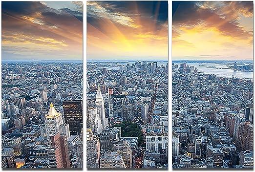 new york cityscape poster nyc art print