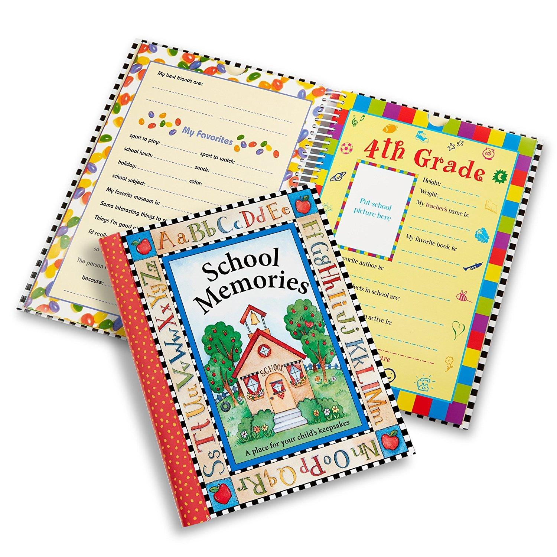New Seasons School Memories Keepsake Photo Album Scrapbook