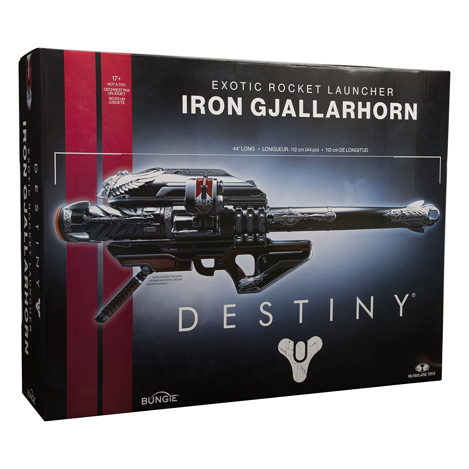 McFarlane Toys Destiny Iron Gjallarhorn Role Play Accessory Role Play  Accessory