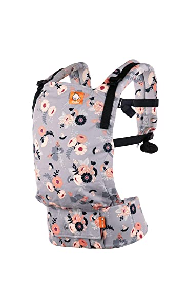 f737827d3d2 Amazon.com   Tula Free To Grow Baby Carrier-Wallflower   Baby